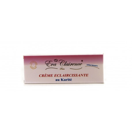 Crème Eclaircissante au Karité Eva Clairence Rouge