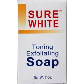 Sure White - toning exfoliating soap