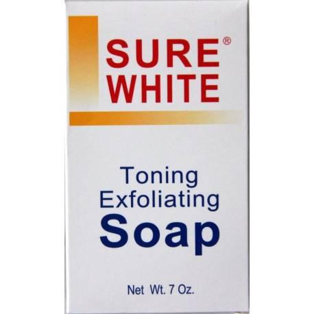 Sure White - savon éclaircissant exfoliant
