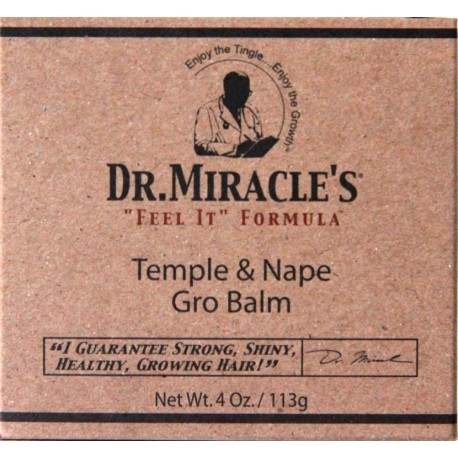 Dr.Miracle's - Temple and Nape Gro Balm - regular
