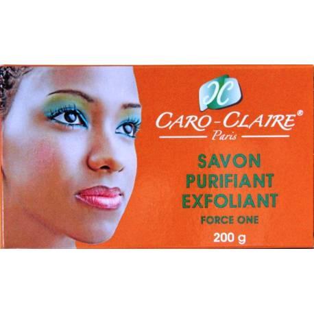 Caro-Claire Savon purifiant exfoliant Force One