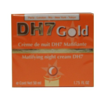 dh7 gold créme de nuit dh7 matifiant