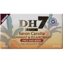DH7 Savon Carotte gommant et éclaircissant