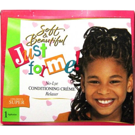 Just for me - No-lye Conditioning Creme relaxer - children - regular