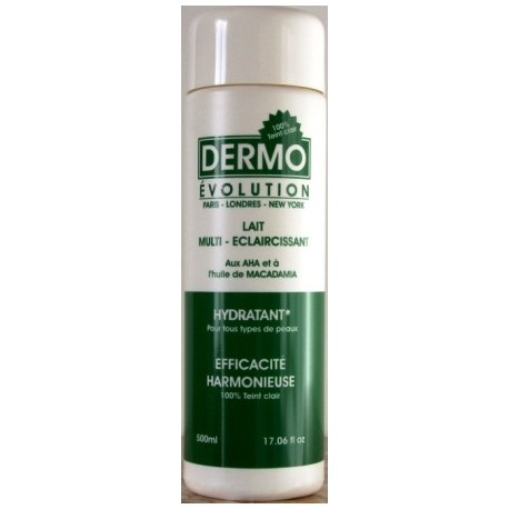 Dermo Evolution body milk - macadamia oil
