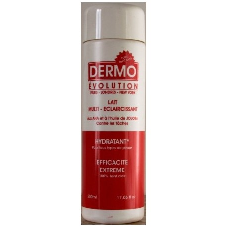 Dermo Evolution body milk - jojoba oil