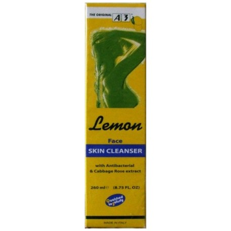 A3 Cosmetic Lemon Face skin cleanser