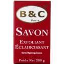 B&C Paris Savon exfoliant éclaircissant