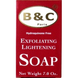 B&C Paris Exfoliating lightening soap