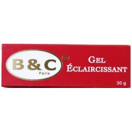 B&C Paris Gel éclaircissant