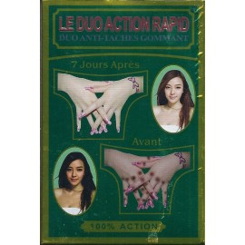 Le duo action rapid - Duo anti-taches gommant