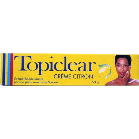 Topiclear crème citron