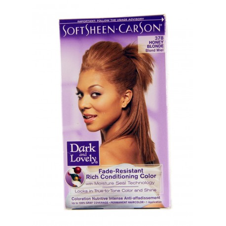 Coloration Blond Miel 378 Dark And Lovely
