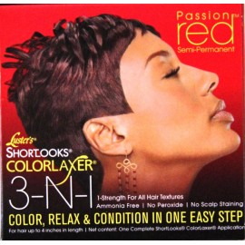 Luster's Shortlooks Colorlaxer Passion Red