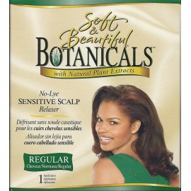 Soft & Beautiful Botanicals No lye relaxer Regular
