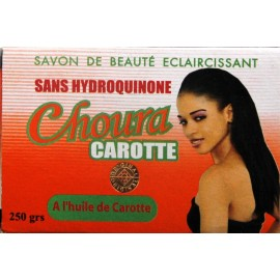 Choura carotte savon de beauté éclaircissant