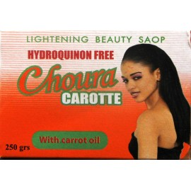 Choura carotte lightening beauty soap