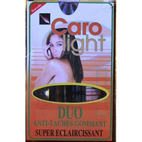 Caro Light Duo exfoliating and anti-spots lotion