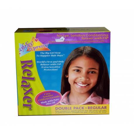 Défriser Et Conditionner cheveux Kids