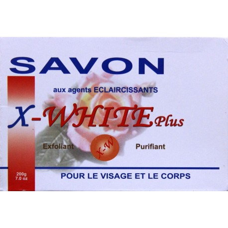 X-WHITE soap with withening agents