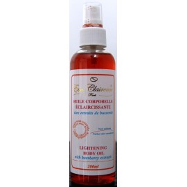 Eva Clairence lightening body oil
