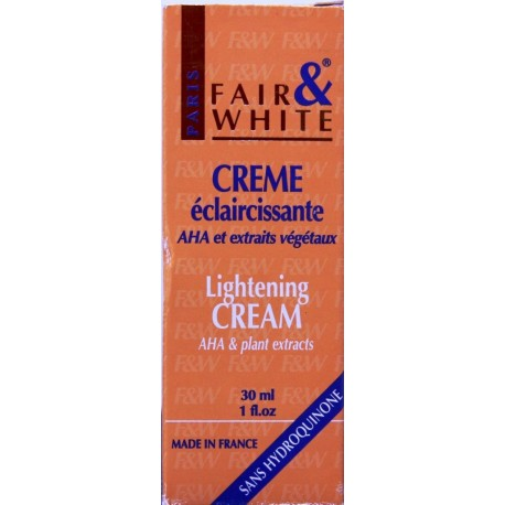 Fair&White Lightening cream