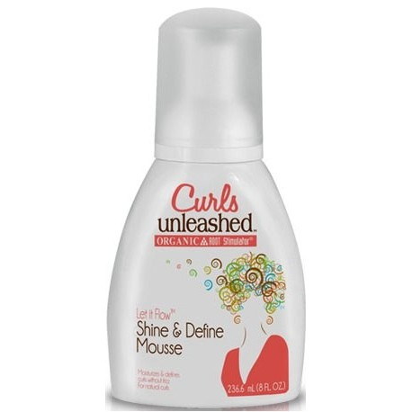 Curls Unleashed Shine and Define Mousse