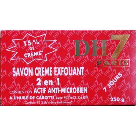 DH7 Rouge savon crème 2en1 exfoliant