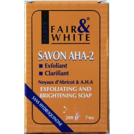 Fair & White exfoliating and brightening soap