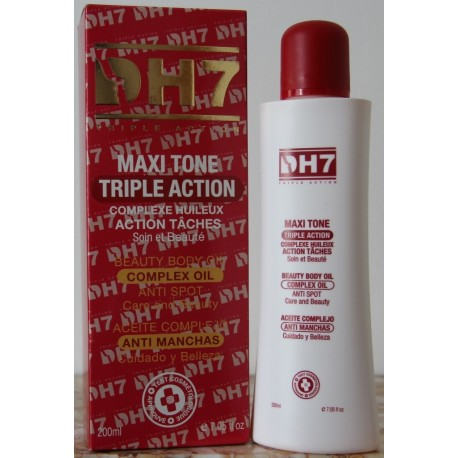 DH7 Rouge Maxi Tone triple action complex oil