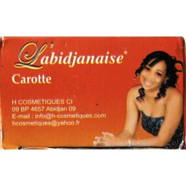 L'abidjanaise Lightening Carrot Toilet soap