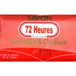 72 Heures savon gommant et clarifiant