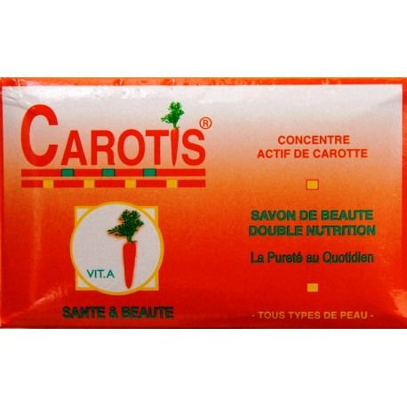 CAROTIS beauty soap double nutrition