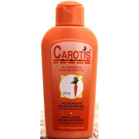 CAROTIS lait de beauté double nutrition