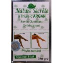Nature secrète Exfoliating lightening soap