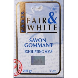 Fair & White exfoliating soap