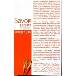 Fair&White savon carotte