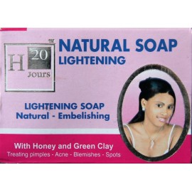 H20 Jours natural lightening soap