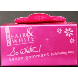 Fair&White So White!exfoliating soap