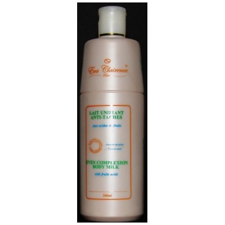 Eva Clairence Even complexion body milk