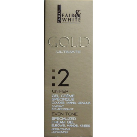 Fair&White Gold specialized cream gel elbows, hands, knees