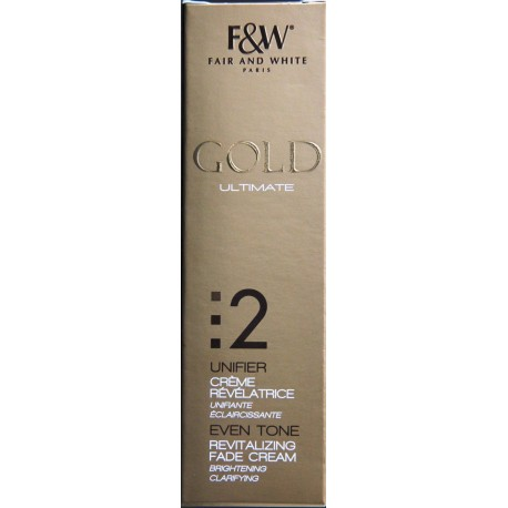 Fair&White Gold revitalizing fade cream
