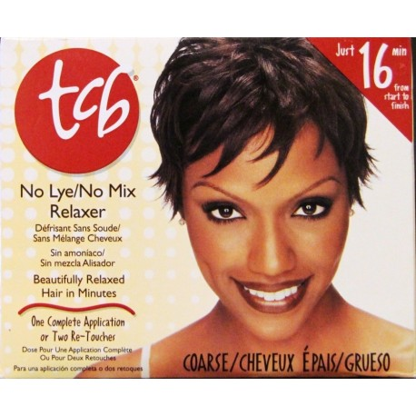 TCB hair relaxer coarse