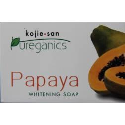 Kojie-san Pureganics Papaya whitening soap