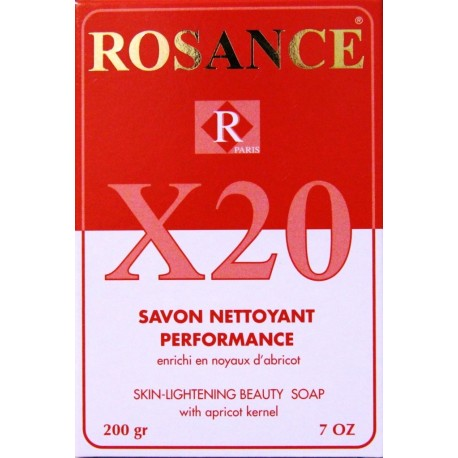 Rosance X20 skin-lightening beauty soap