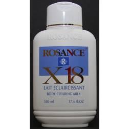 Rosance X18 Lait éclaircissant