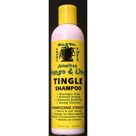 Jamaican Mango and Lime Tingle shampoo