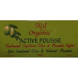 SRY Organic Active Pousse hair treatment Olive and Natural Placenta