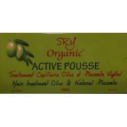 SRY Organic Active Pousse traitement capillaire Olive et placenta végétal
