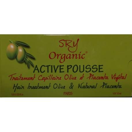SRY Organic Active Pousse hair treatment